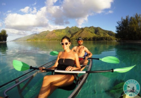 Moorea Transparent Kayak Guided Tour - 04H00