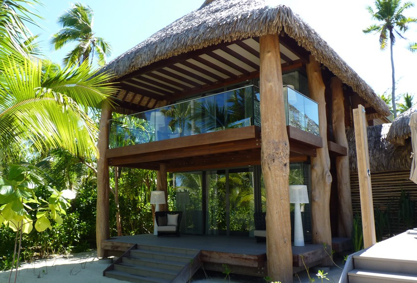 Three bedroom villa at The Brando Resort in Tetiaroa island