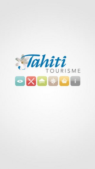 Iphone Application from Tahiti Tourisme