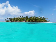 Private islet in French Polynesia