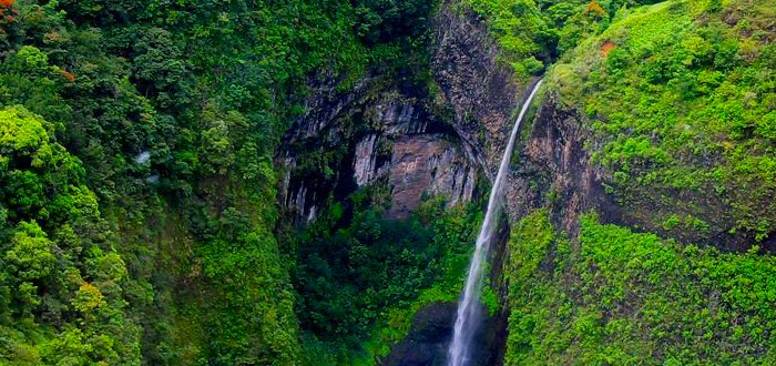 Inner Tahiti - The 3 Waterfalls site