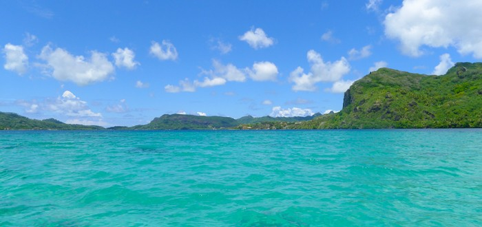 HUAHINE, the island of women, suave and seductive