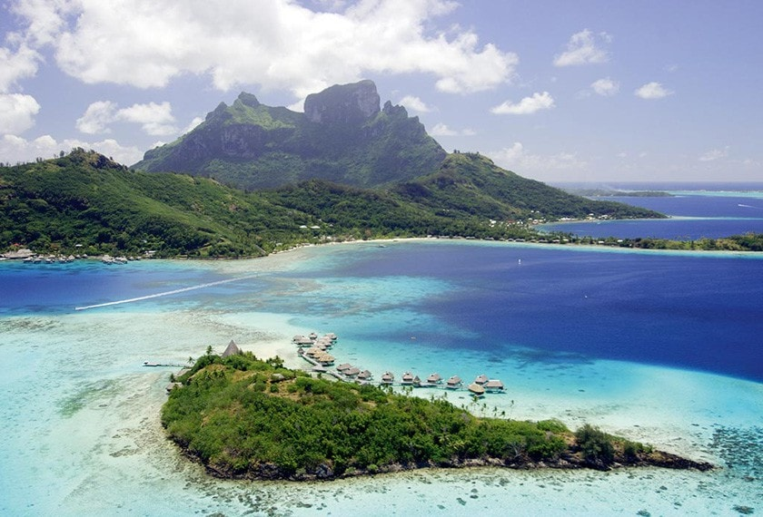 Bora Bora Honeymoon on a Private Island