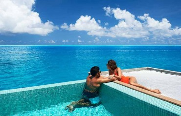 Overwater Villa With Pool At Conrad Resort 5 Nights