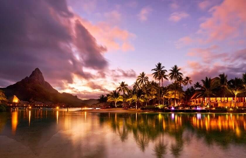 Moorea and Bora Bora honeymoon at Intercontinental resorts (with Half Board)