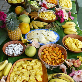 Fruits from The Islands of Tahiti